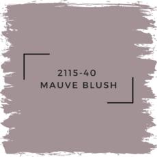 Benjamin Moore 2115-40  Mauve Blush