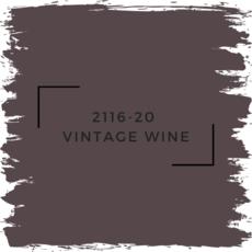 Benjamin Moore 2116-20  Vintage Wine