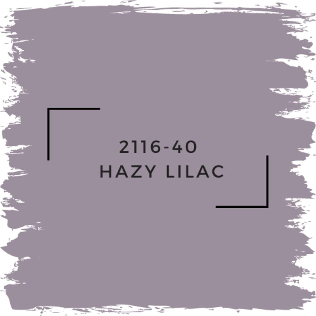 Benjamin Moore 2116-40  Hazy Lilac