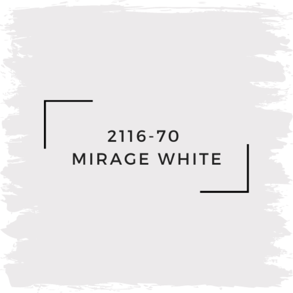 Benjamin Moore 2116-70  Mirage White