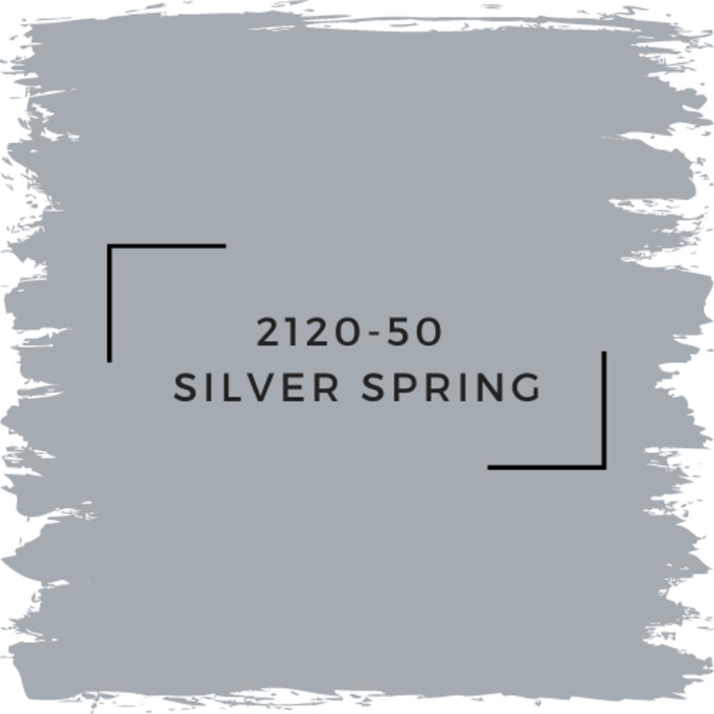 Benjamin Moore 2120-50  Silver Spring