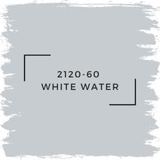 Benjamin Moore 2120-60  White Water
