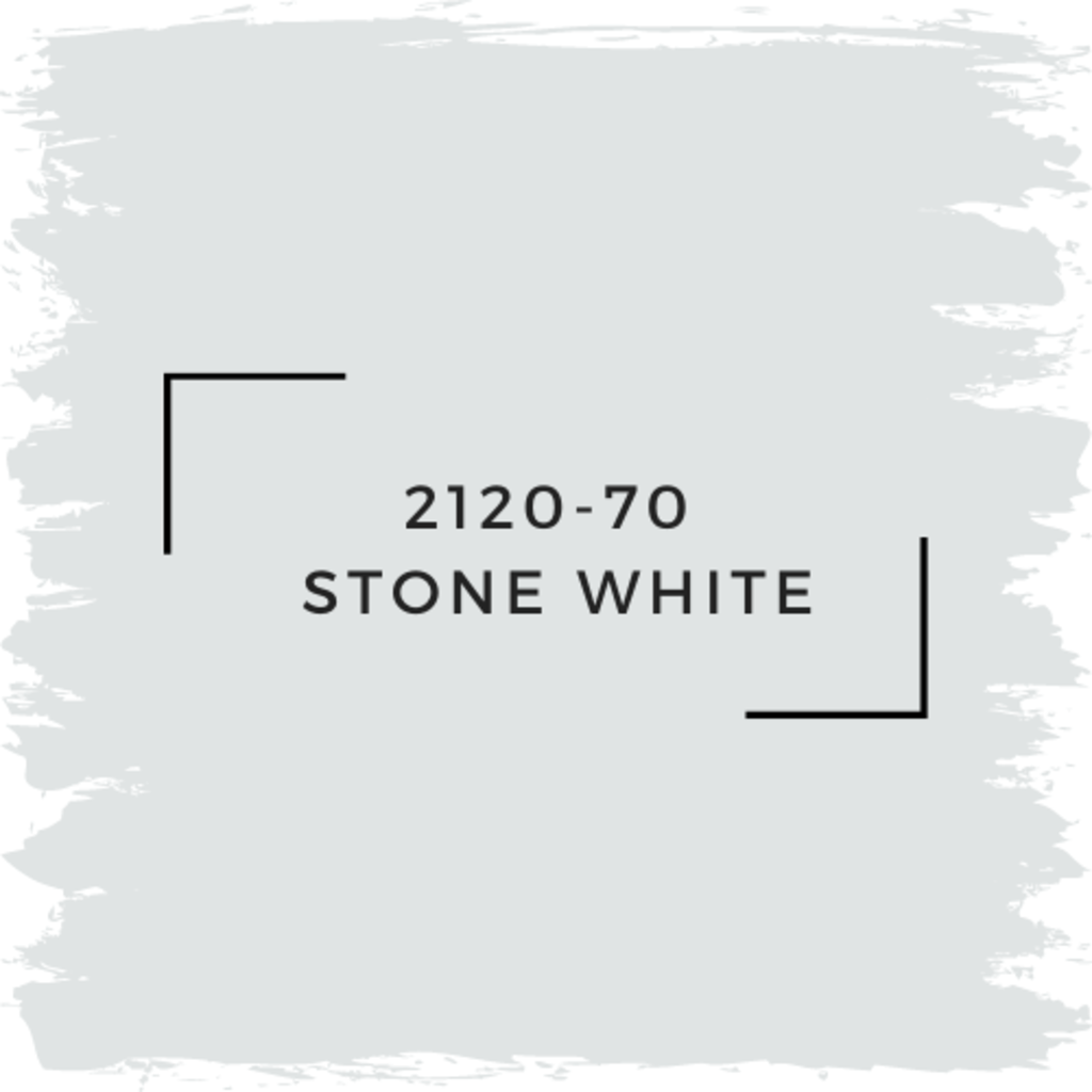 Benjamin Moore 2120-70  Stone White