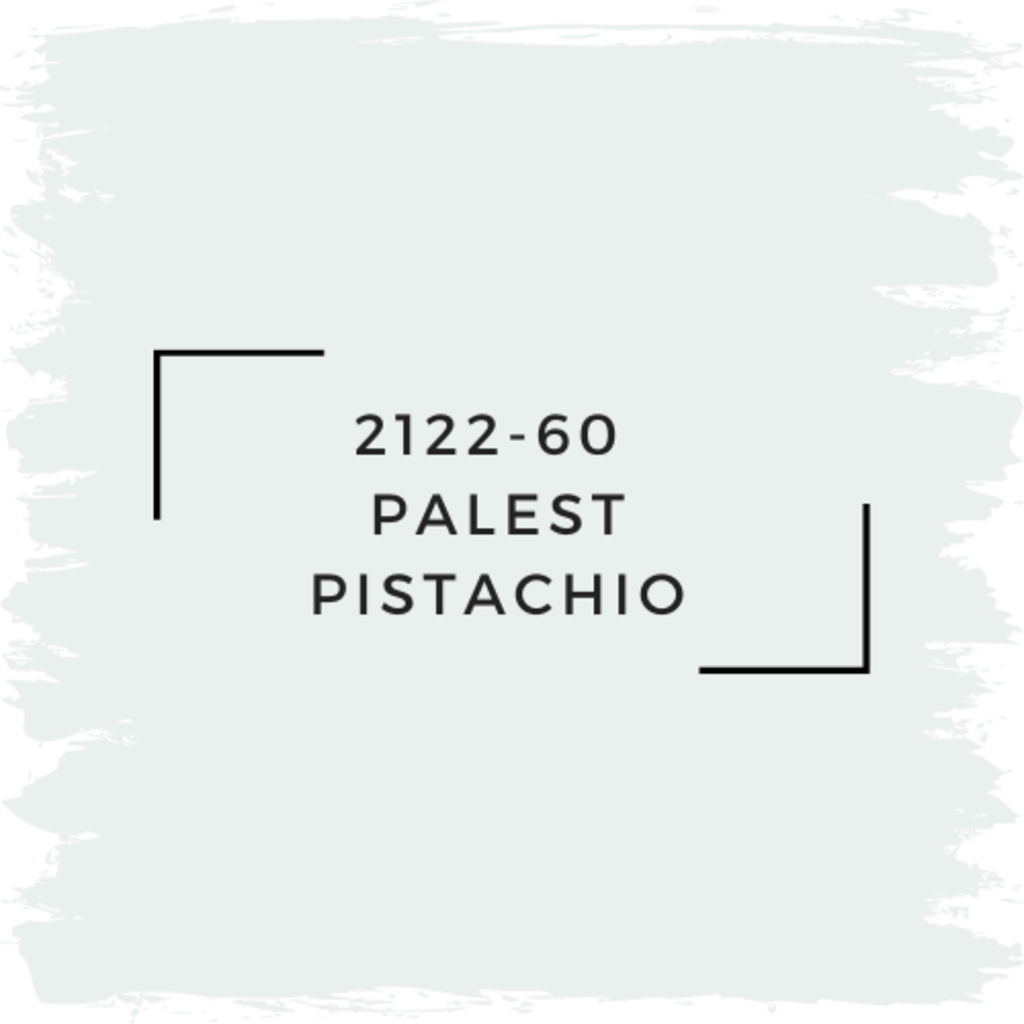 Benjamin Moore 2122-60  Palest Pistachio