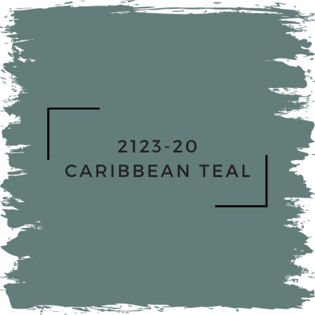 Benjamin Moore 2123-20 Caribbean Teal