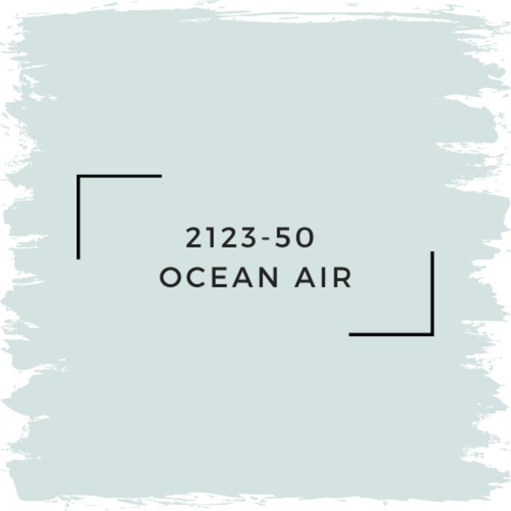 Benjamin Moore 2123-50  Ocean Air