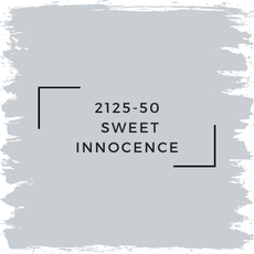 Benjamin Moore 2125-50  Sweet Innocence