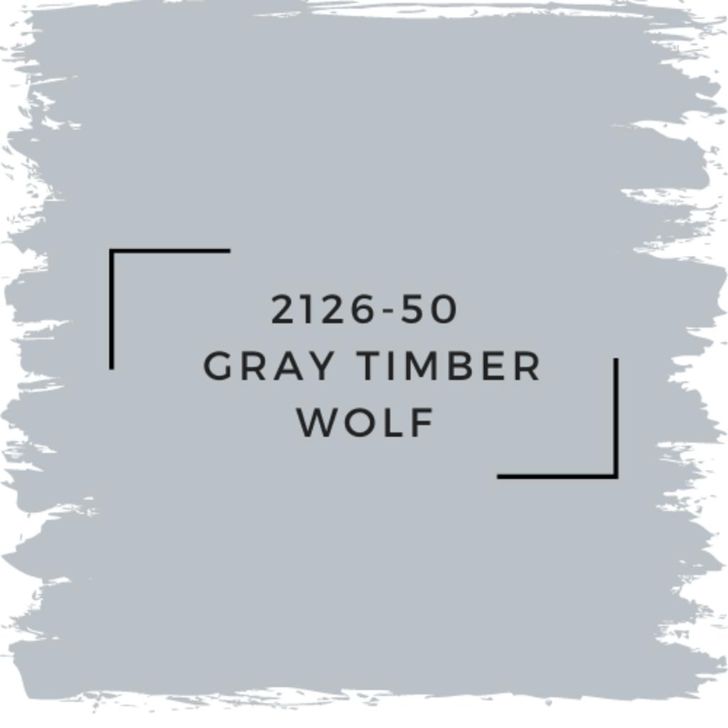 Benjamin Moore 2126-50  Gray Timber Wolf
