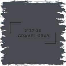 Benjamin Moore 2127-30  Gravel Gray