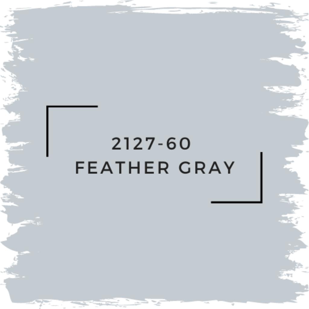 Benjamin Moore 2127-60  Feather Gray