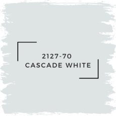 Benjamin Moore 2127-70  Cascade White