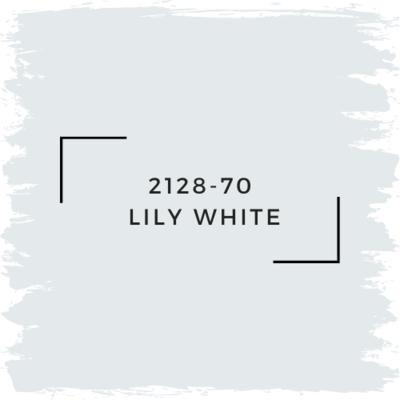 Benjamin Moore 2128-70  Lily White