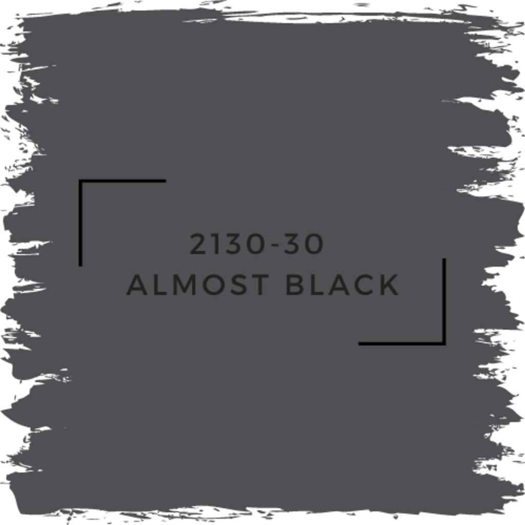 Benjamin Moore 2130-30  Almost Black