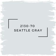 Benjamin Moore 2130-70  Seattle Gray