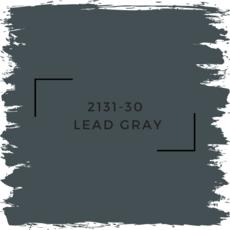 Benjamin Moore 2131-30  Lead Gray