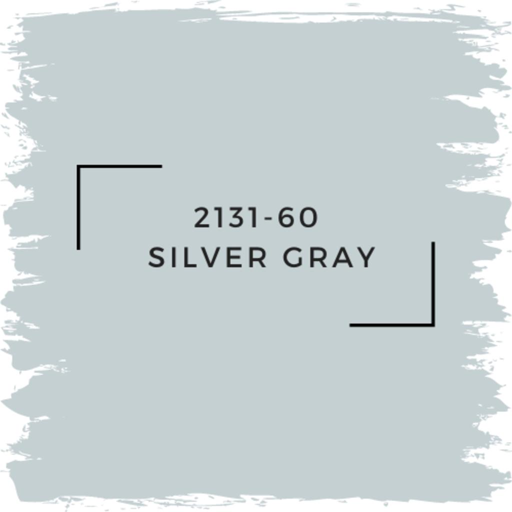Benjamin Moore 2131-60  Silver Gray