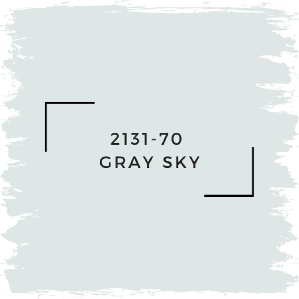 Benjamin Moore 2131-70  Gray Sky