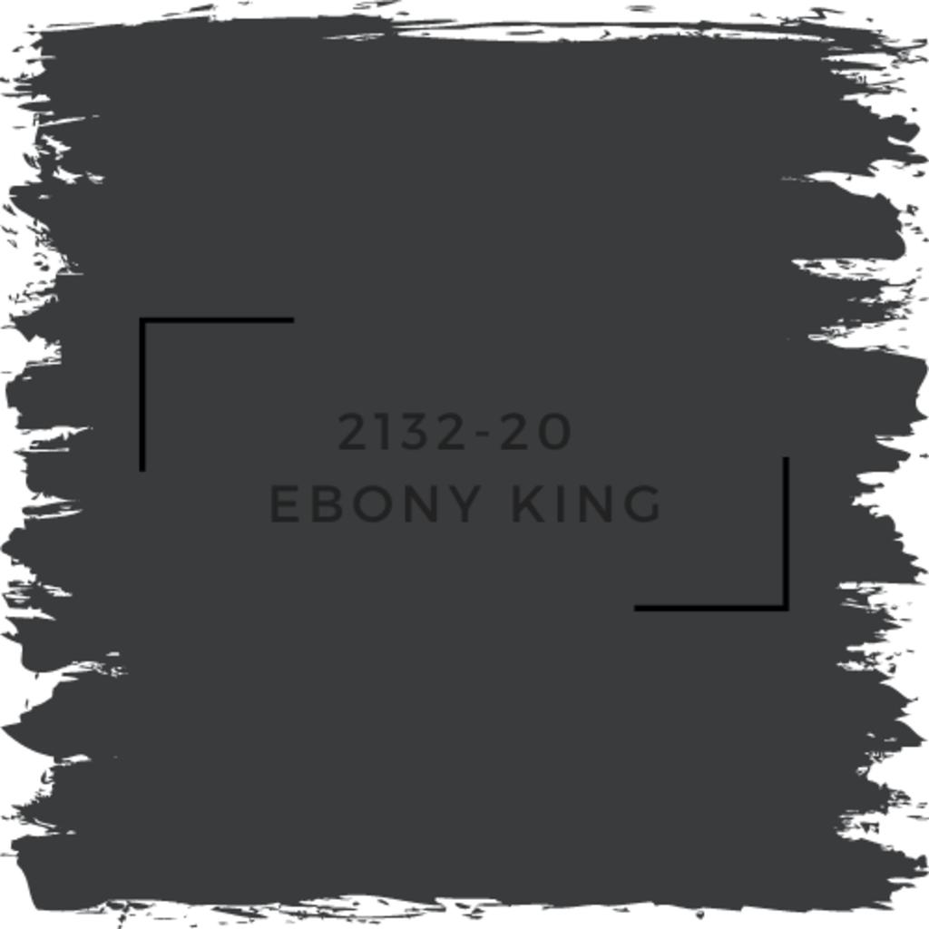 Benjamin Moore 2132-20  Ebony King