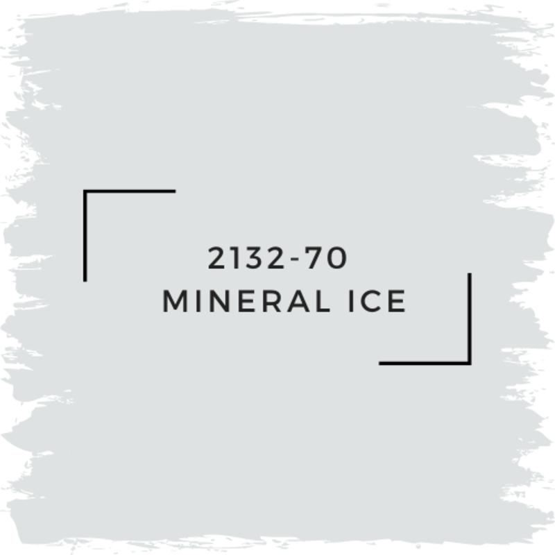 Benjamin Moore 2132-70  Mineral Ice