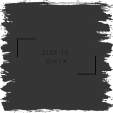 Benjamin Moore 2133-10  Onyx
