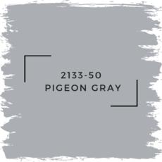 Benjamin Moore 2133-50  Pigeon Gray