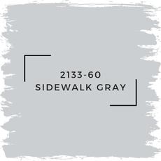 Benjamin Moore 2133-60 Sidewalk Gray