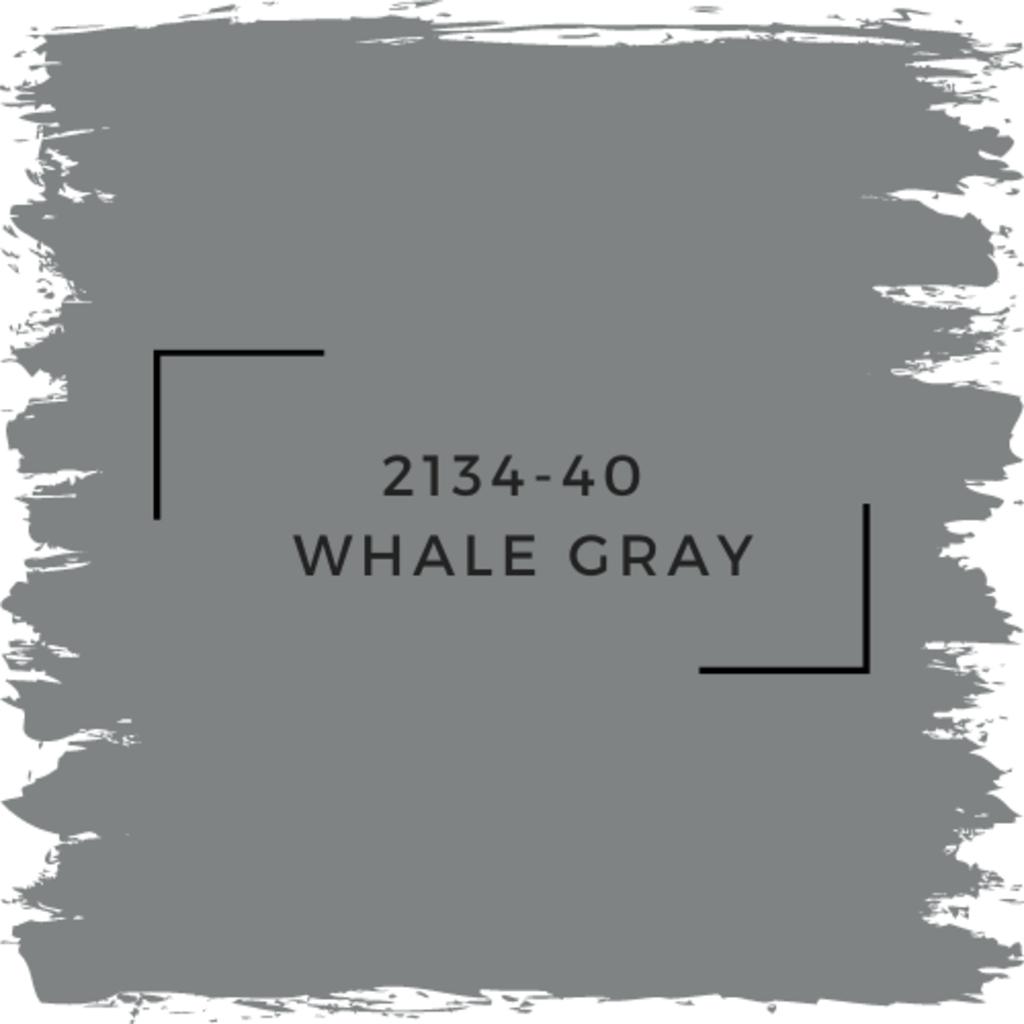 Benjamin Moore 2134-40  Whale Gray