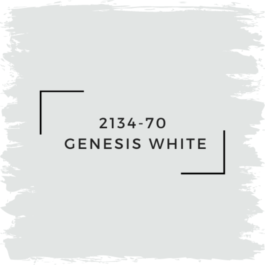 Benjamin Moore 2134-70  Genesis White
