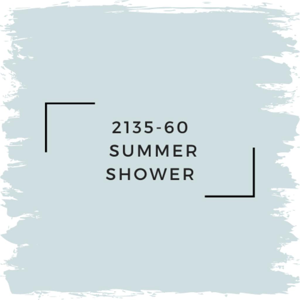 Benjamin Moore 2135-60  Summer Shower