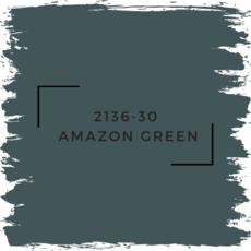 Benjamin Moore 2136-30  Amazon Green