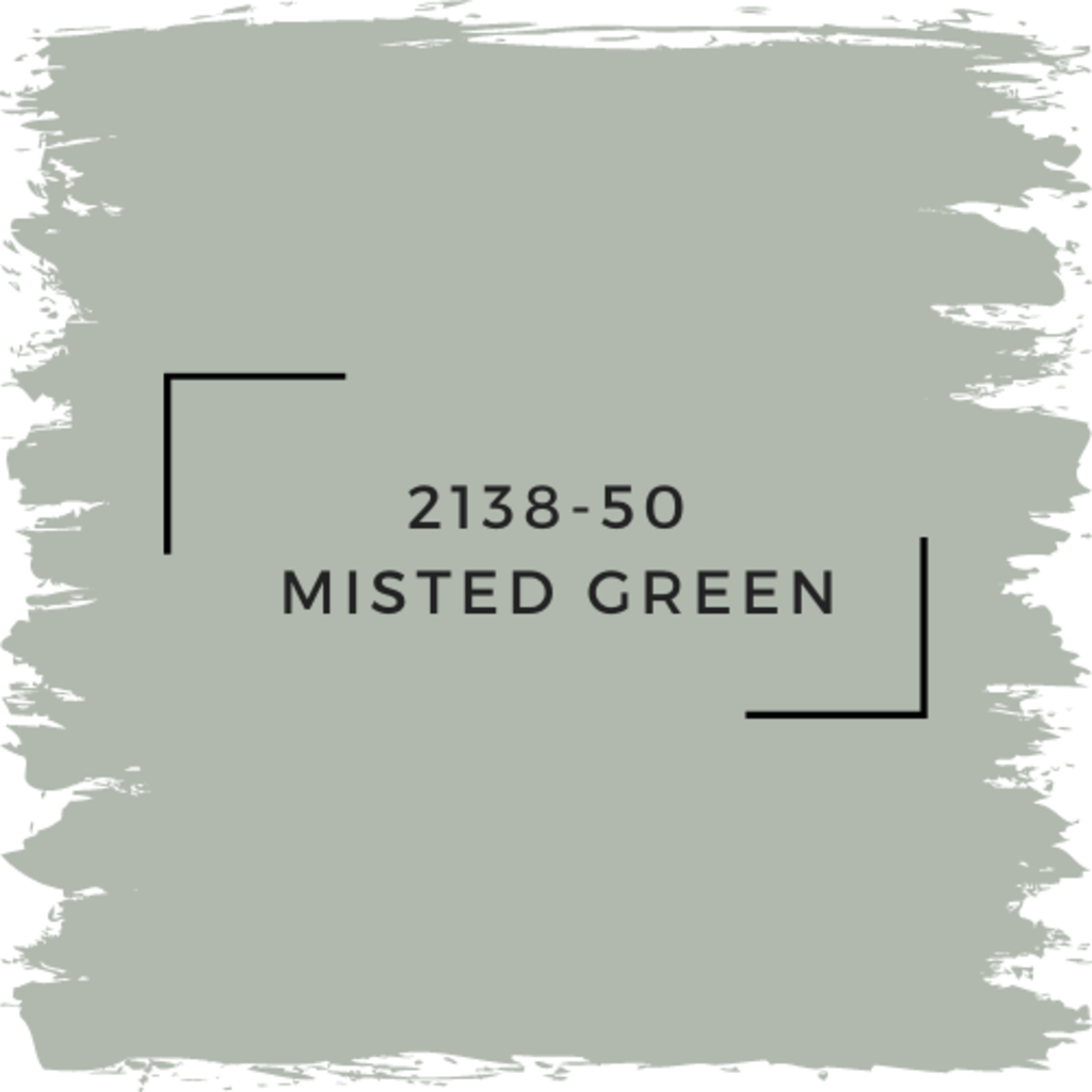 Benjamin Moore 2138-50  Misted Green