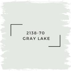 Benjamin Moore 2138-70  Gray Lake