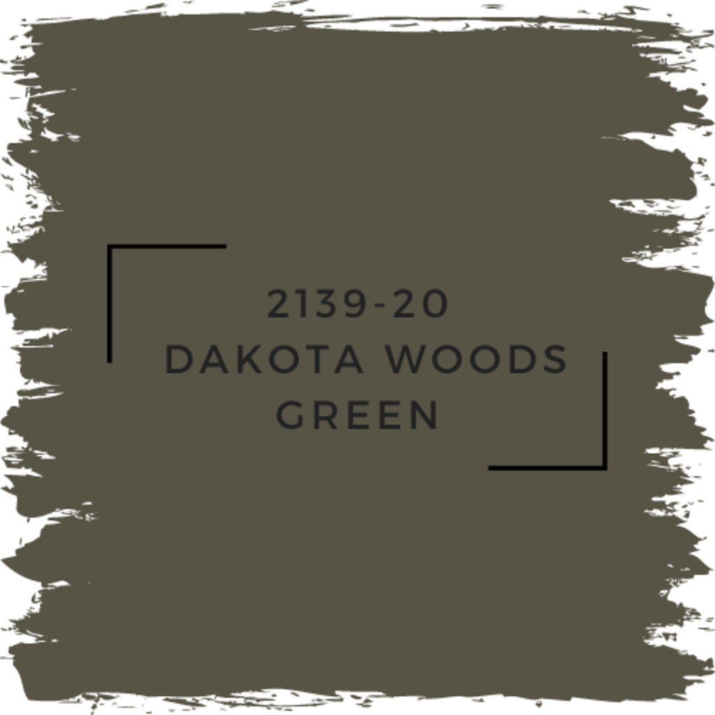 Benjamin Moore 2139-20  Dakota Woods Green