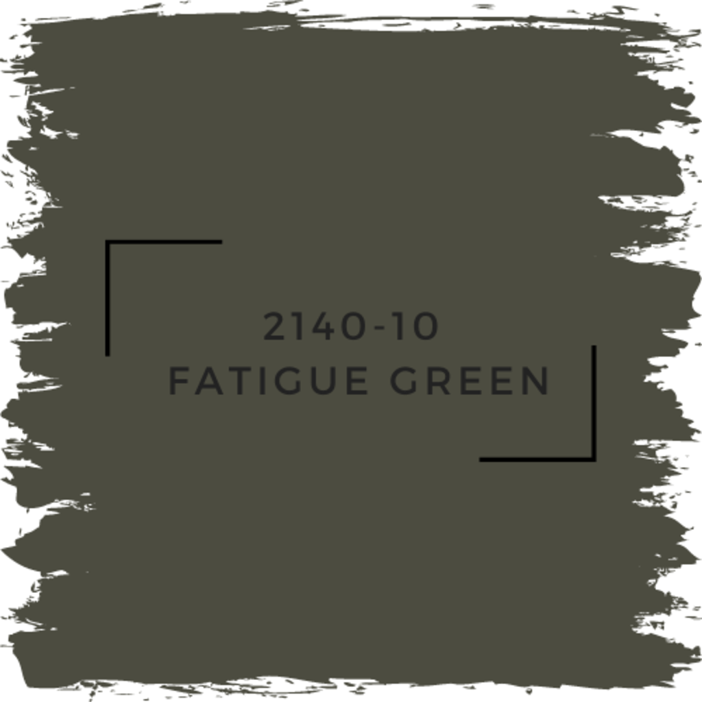 Benjamin Moore 2140-10  Fatigue Green