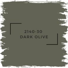 Benjamin Moore 2140-30  Dark Olive
