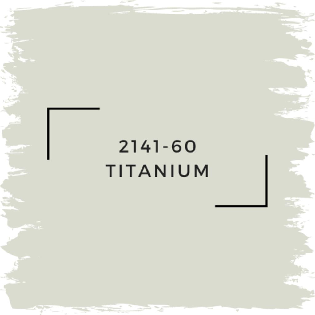Benjamin Moore 2141-60 Titanium