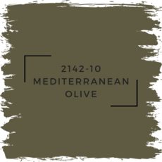 Benjamin Moore 2142-10 Mediterranean Olive