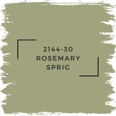 Benjamin Moore 2144-30 Rosemary Sprig