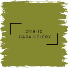 Benjamin Moore 2146-10  Dark Celery