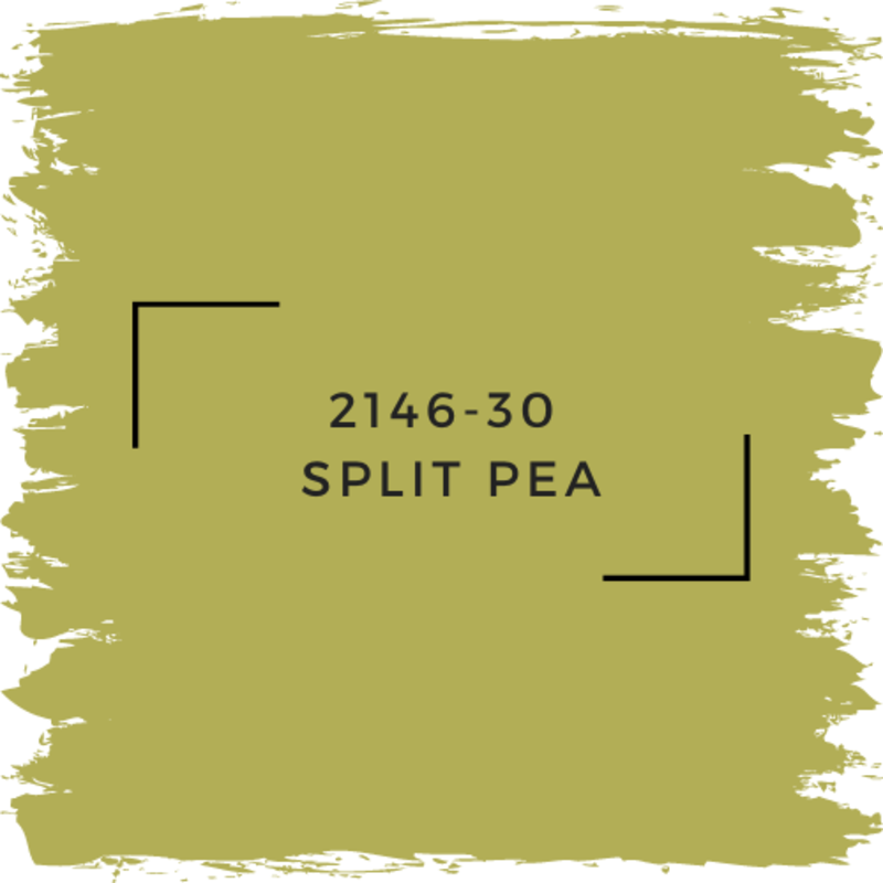 Benjamin Moore 2146-30  Split Pea