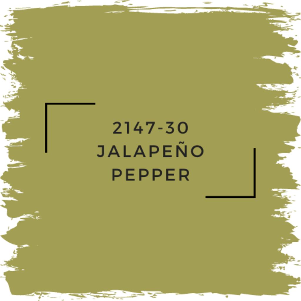 Benjamin Moore 2147-30 Jalapeño Pepper
