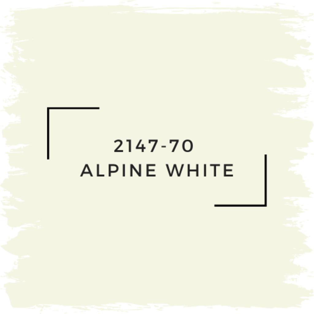 Benjamin Moore 2147-70  Alpine White