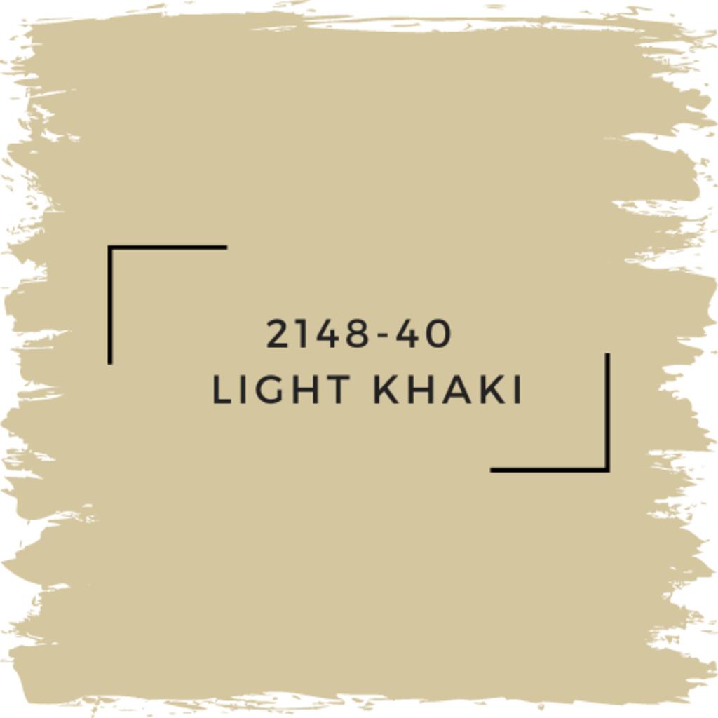 Benjamin Moore 2148-40  Light Khaki