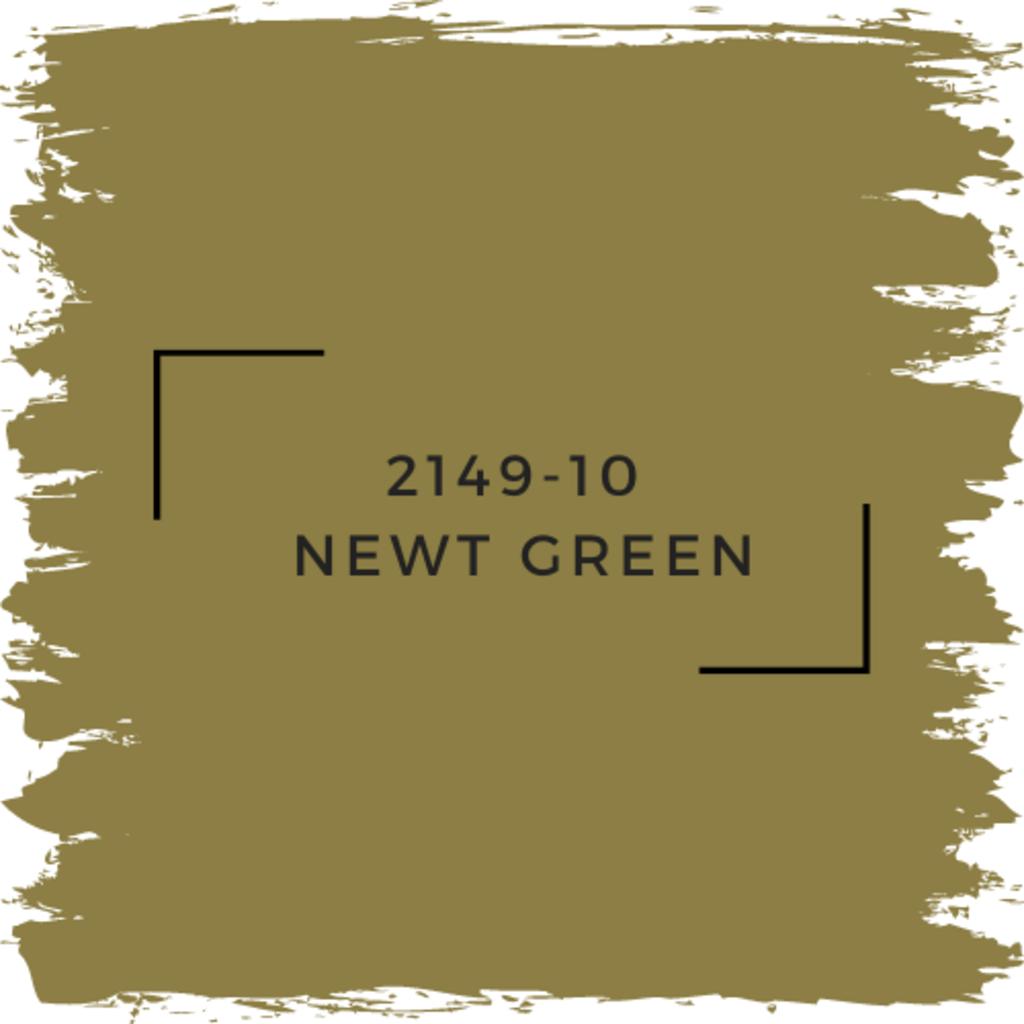 Benjamin Moore 2149-10  Newt Green