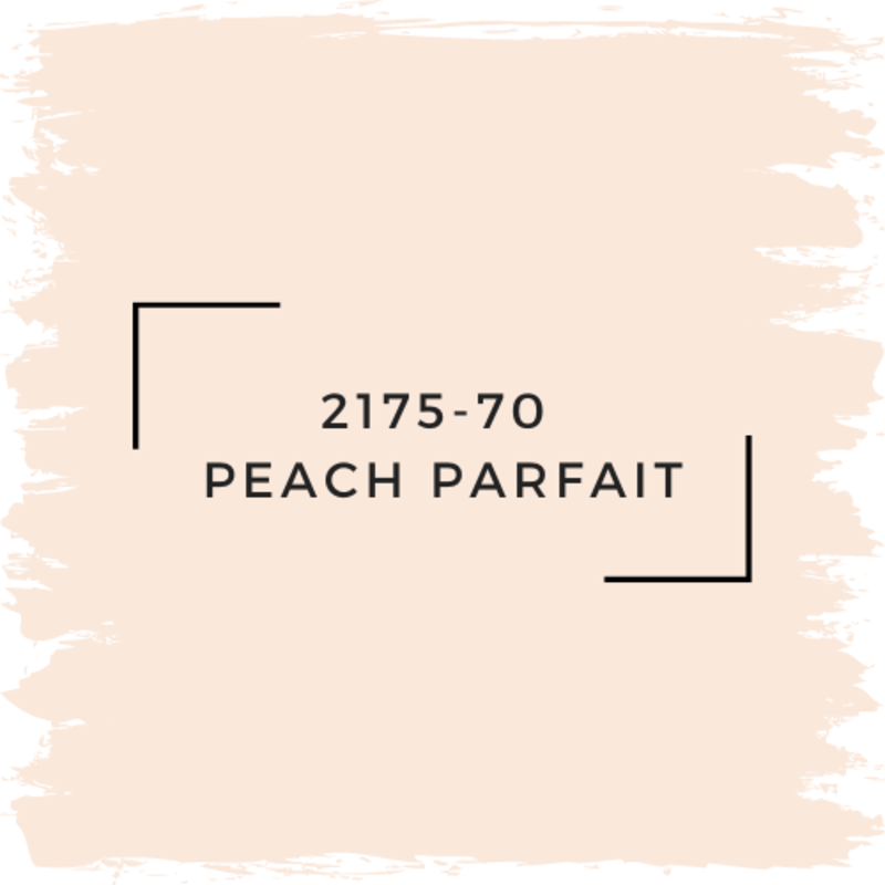 Benjamin Moore 2175-70  Peach Parfait
