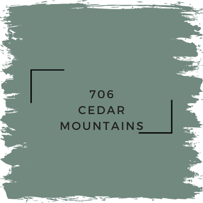 Benjamin Moore 706 Cedar Mountains