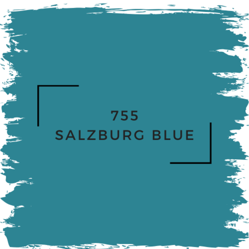 Benjamin Moore 755 Salzburg Blue