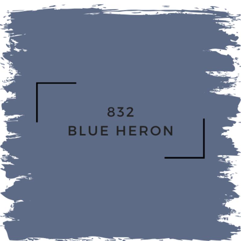 Benjamin Moore 832 Blue Heron
