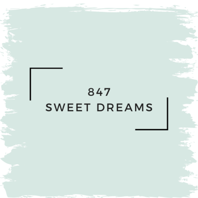Benjamin Moore 847 Sweet Dreams