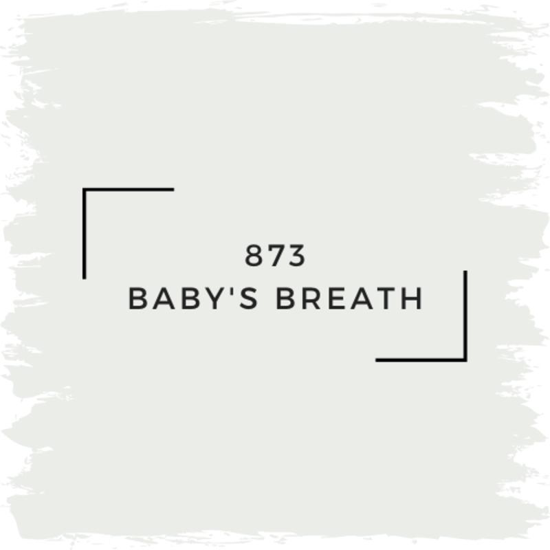 Benjamin Moore 873 Baby's Breath